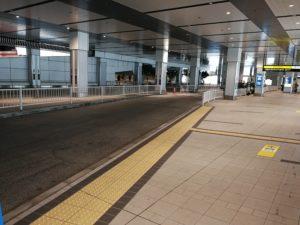 バスタ新宿タクシー降車場