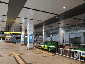 新宿駅南口タクシー乗り場
