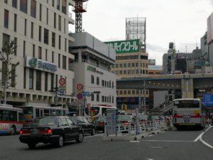 渋谷西口優良タクシー乗り場