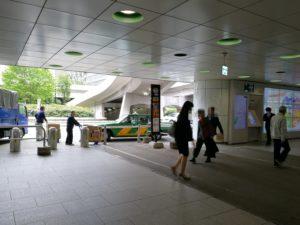 新宿西口タクシー乗り場