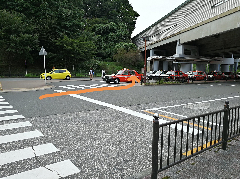 永山駅たくしーのりば