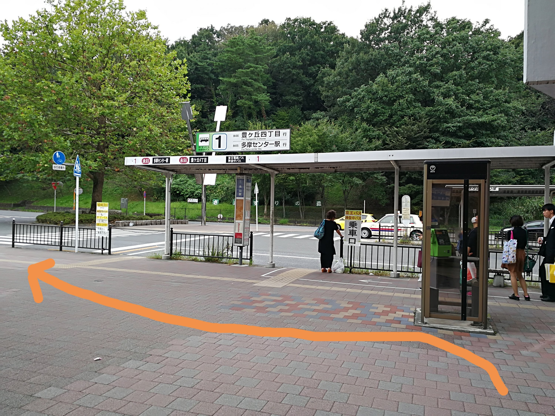 永山駅バス停