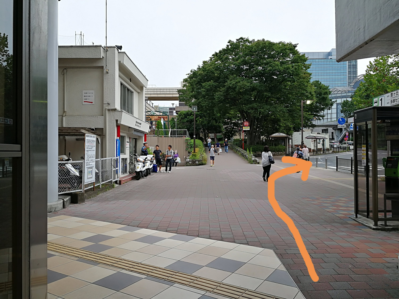 京王永山駅交番前