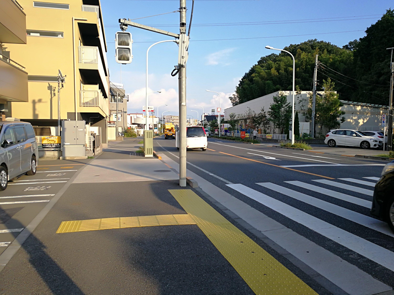 川崎街道聖蹟桜ヶ丘方面