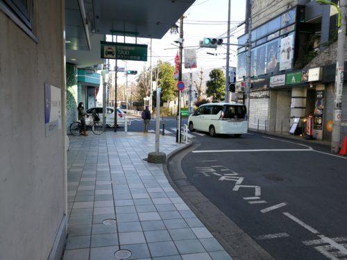 八幡山駅の待機がいないタクシー乗り場