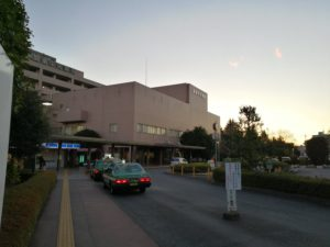 関東中央病院タクシー乗り場