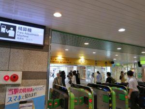 錦糸町駅改札