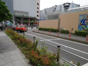 錦糸町駅タクシー乗り場