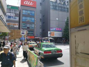 中野駅タクシー乗り場
