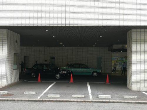 東京医科大学病院タクシー乗り場