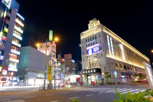 江戸通り沿いタクシー乗り場