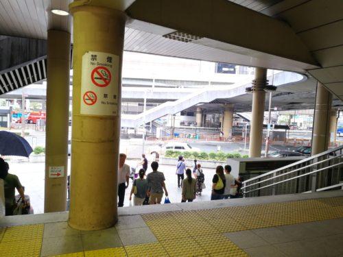 上野浅草口階段
