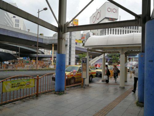 上野駅タクシー乗り場