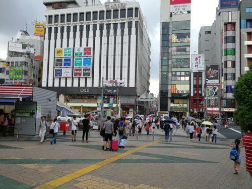 上野広小路口の外
