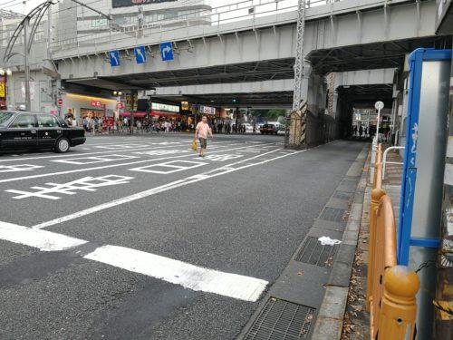 広小路口非公式タクシー乗り場