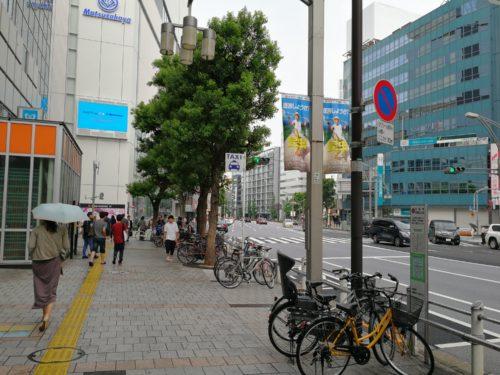 上野松坂屋前タクシー乗り場