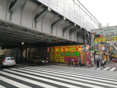 御徒町駅北口タクシー乗り場