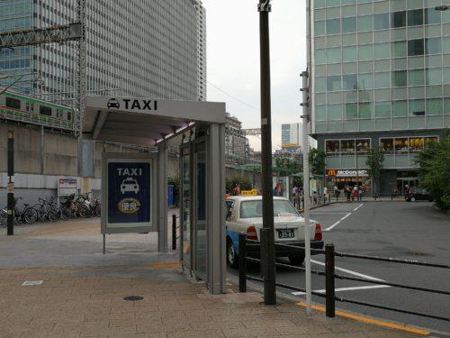 秋葉原駅東口タクシー乗り場