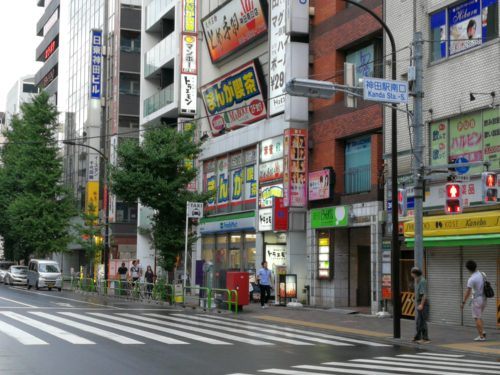 神田駅南口タクシー乗り場