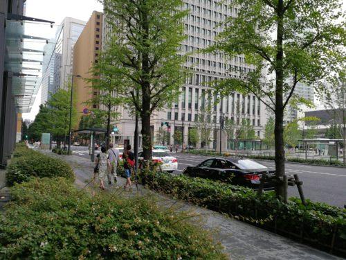 新丸ビルエコタクシー乗り場