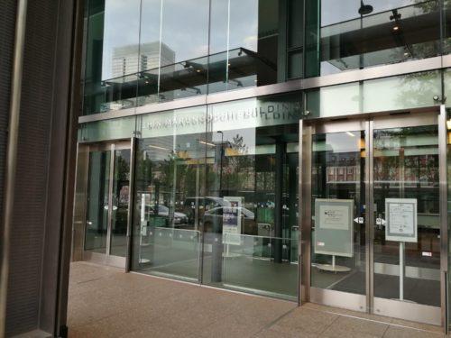 新丸ビル東側出入口