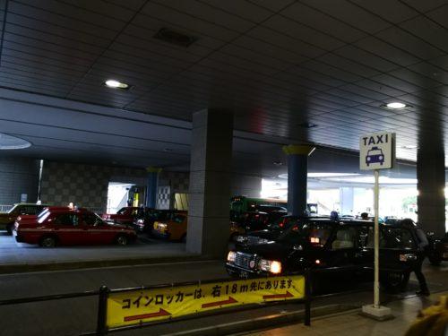 品川駅港南口タクシー乗り場