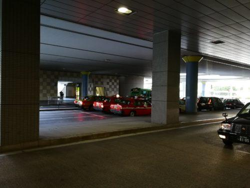 品川駅港南口タクシープール