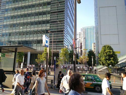 浜松町駅非公式タクシー乗り場