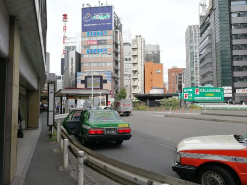 新橋駅タクシー乗り場