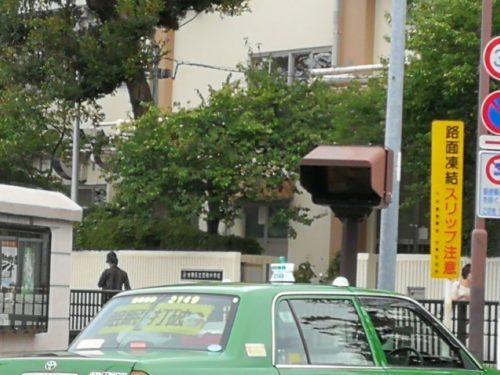 鶯谷駅モニター監視タクシー