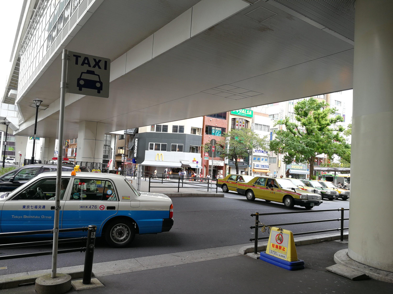 日暮里駅タクシー乗り場