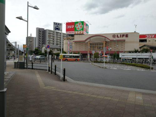 江北駅タクシー乗り場