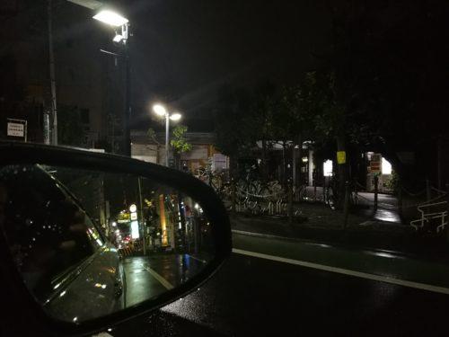 中板橋駅夜間