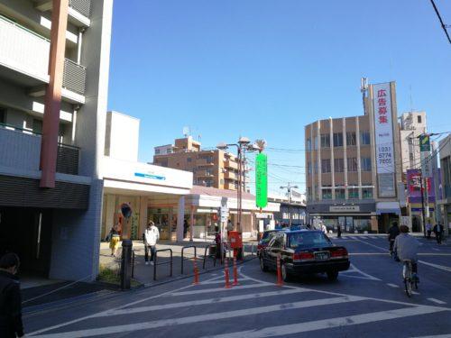 武蔵関タクシー乗り場