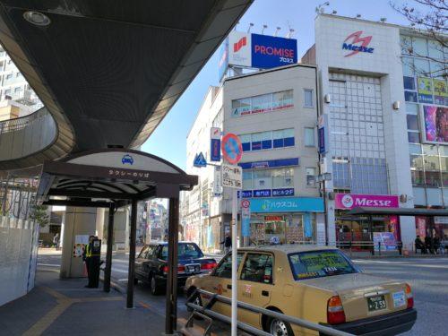 三鷹駅南口タクシー乗り場 三鷹通り側