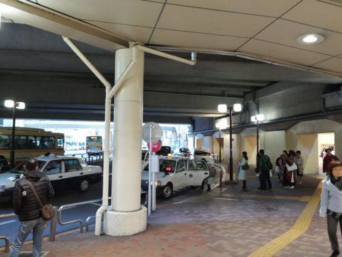 町田駅ロータリー内タクシー乗り場