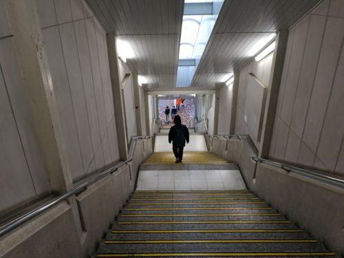 町田駅南口階段