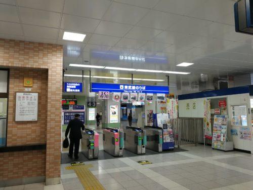 太田駅改札