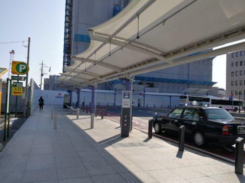 太田駅南口タクシー乗り場先頭
