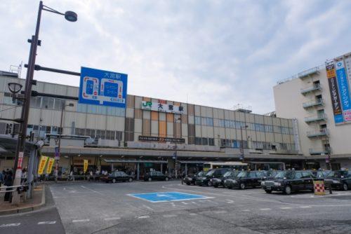 大宮駅東口タクシー乗り場