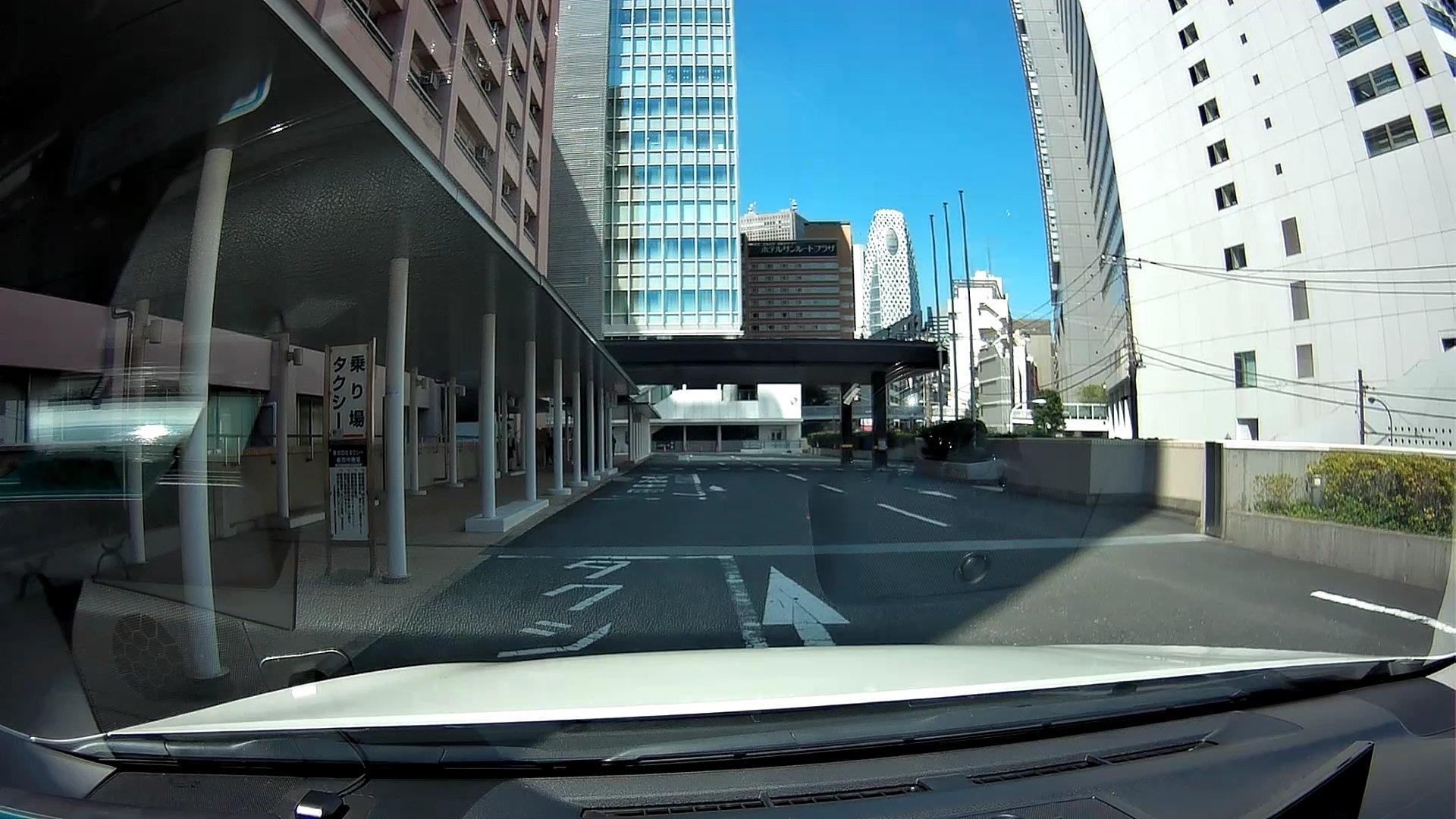 JR東京総合病院タクシー乗り場