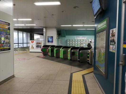 葛西臨海公園駅改札