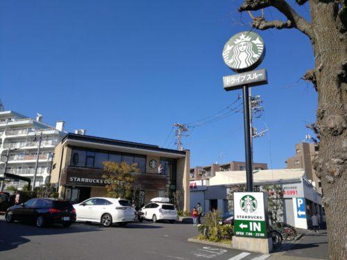 スターバックスコーヒー芦花公園店